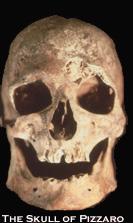 Francisco Pizarro's Skull