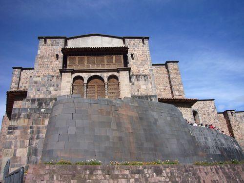 Temple of the Sun in Cusco, Peru