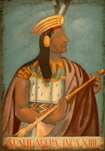 The Inca Emperor Atahualpa