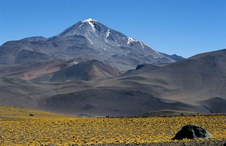 Mount Llullaillaco, in northern Argentina, had three frozen Inca children at its top–offerings to the gods.