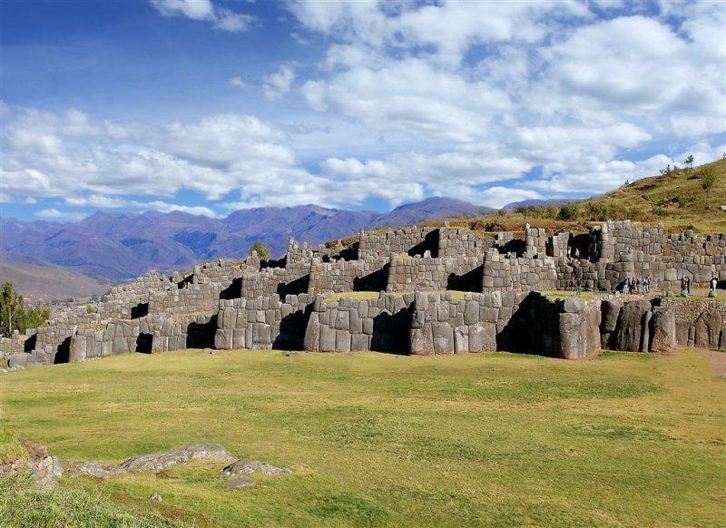 Sacsayhuaman (Saqsaywaman) Inca Ruins, Peru