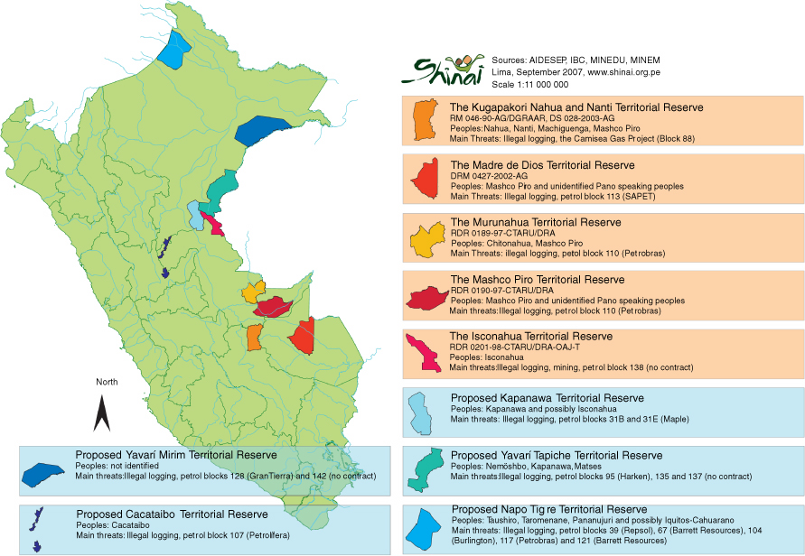 Protected Areas for Uncontacted Tribes in Peru