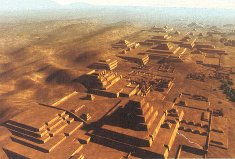 Pyramid Complex Reconstruction at Cahuachi, Peru