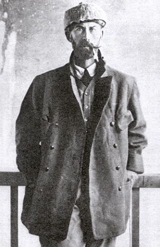 The British explorer, Percy Harrison Fawcett, (1867-1925) disappeared into the Brazilian Amazon at the age of 58
