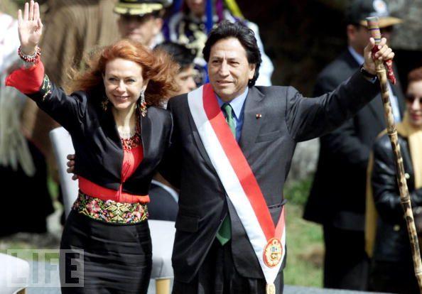 Alejandro Toledo inauguration at Machu Picchu