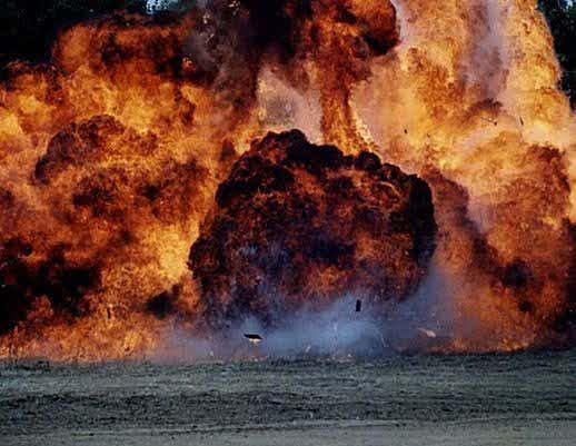 Napalm Explosion