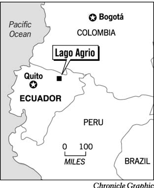 Lago Agria Texaco in Ecuador