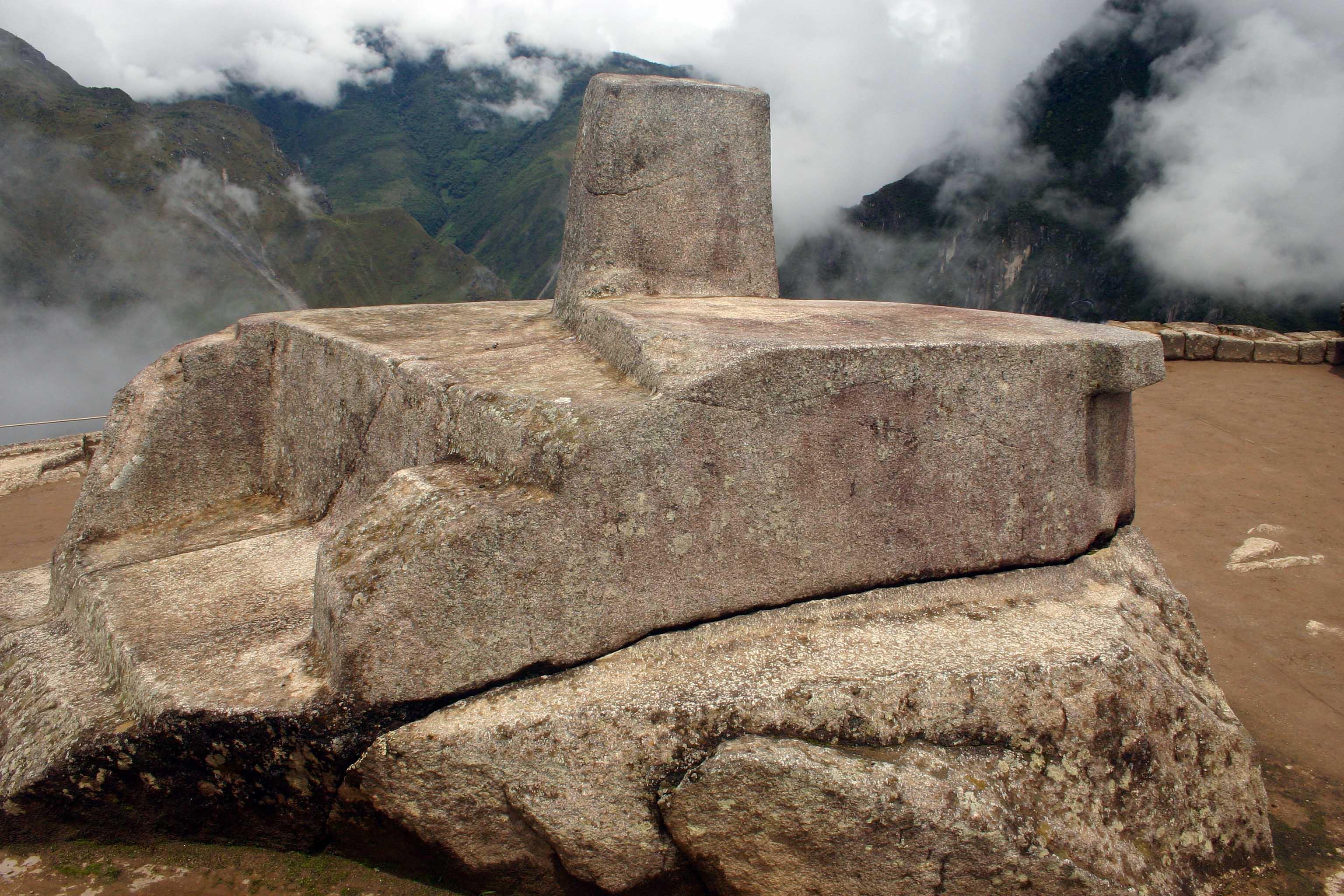 Intihuantana Machu Picchu