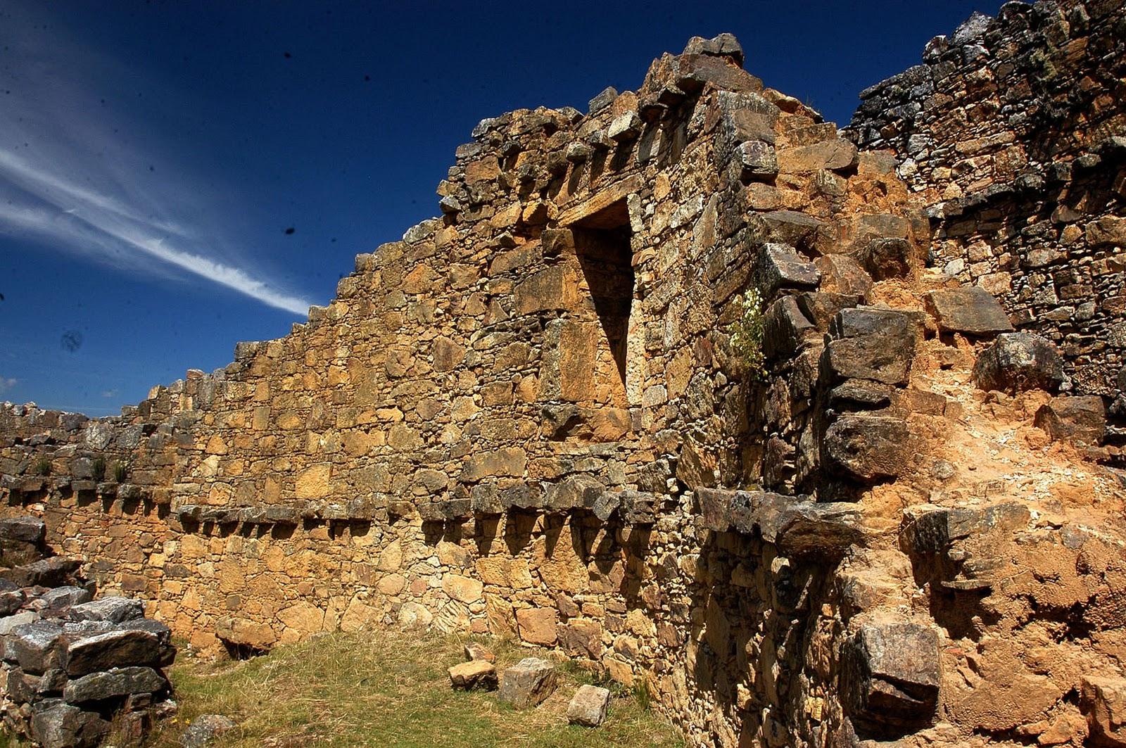 Marcahuachuco Ruins in NE Peru
