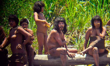 Uncontacted Mashco Piro Indians in Peru