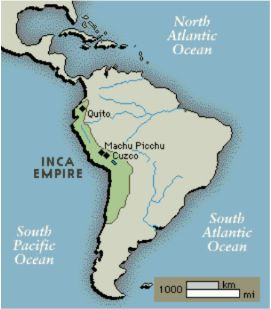 Inca Empire under Atahualpa