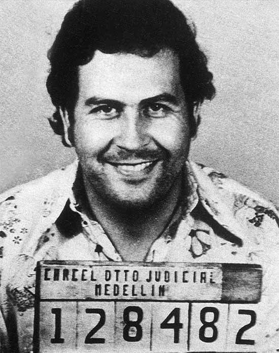 Pablo Escobar in prison