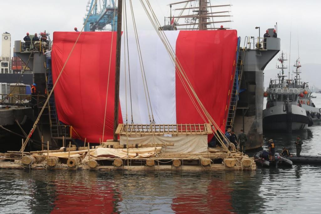 Kon Tiki 2 Raft Voyage